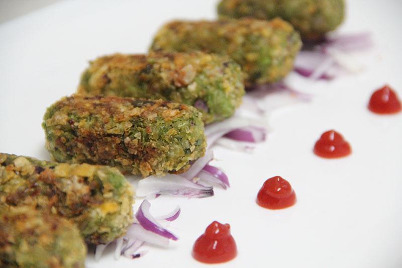 Green Peas Kabab