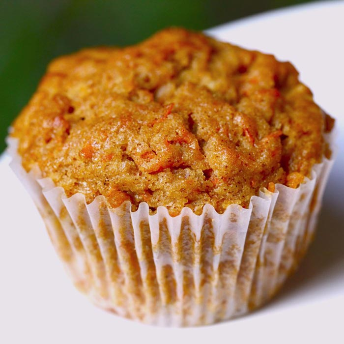Cinnamon Carrot Muffins